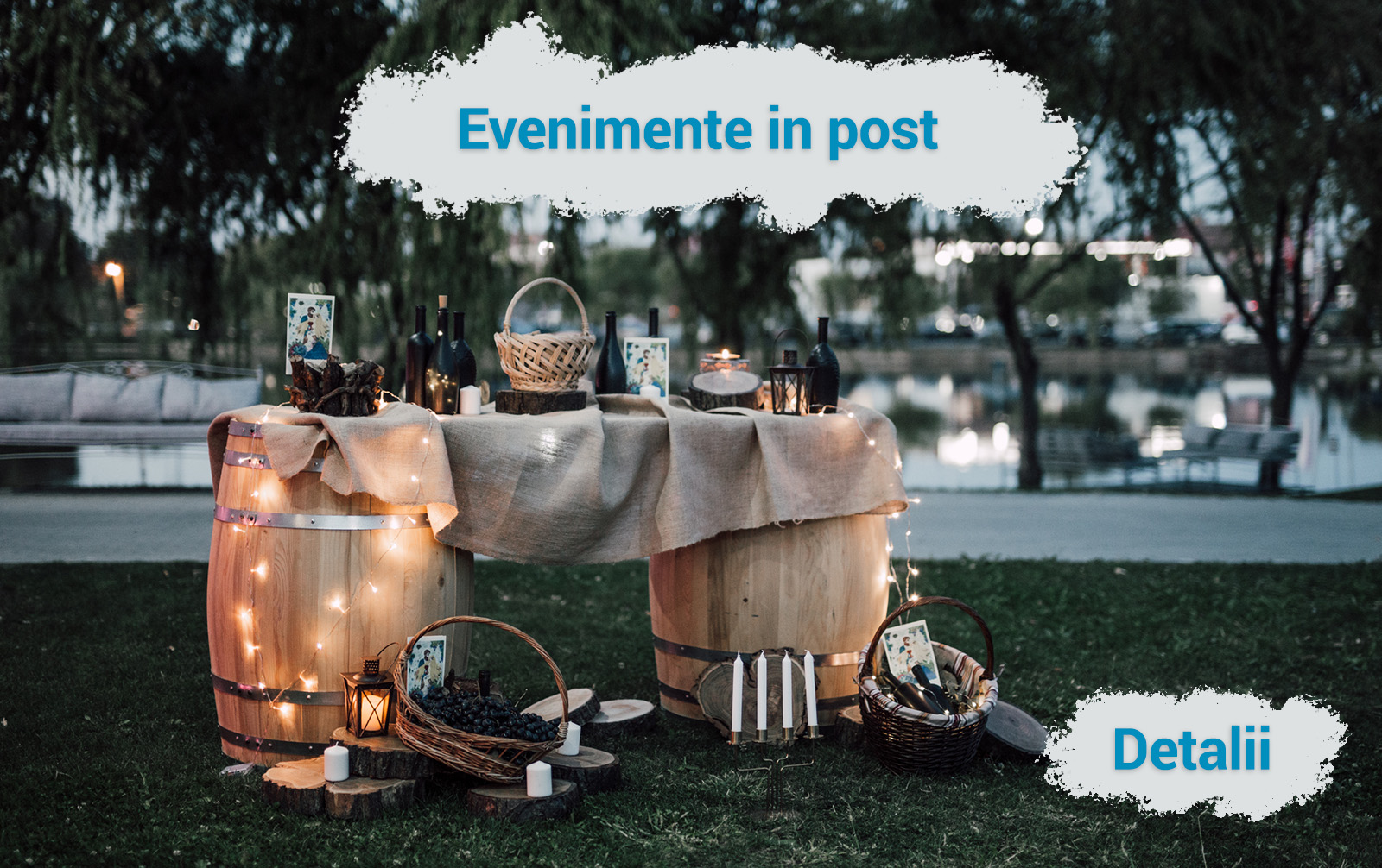 Oferta evenimente in post