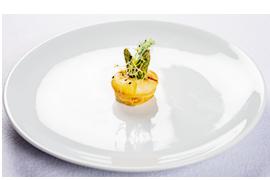 Frittata cu sparanghel si Camembert